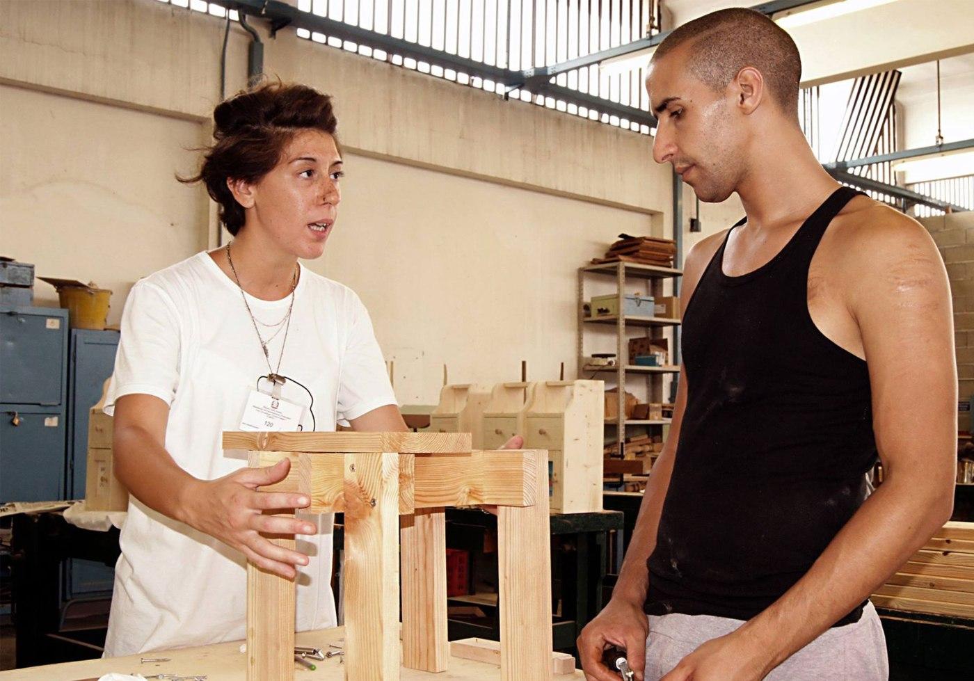 workshop di autocostruzione in carcere7