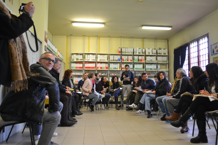 workshop di co-progettazione sul carcere di Padova