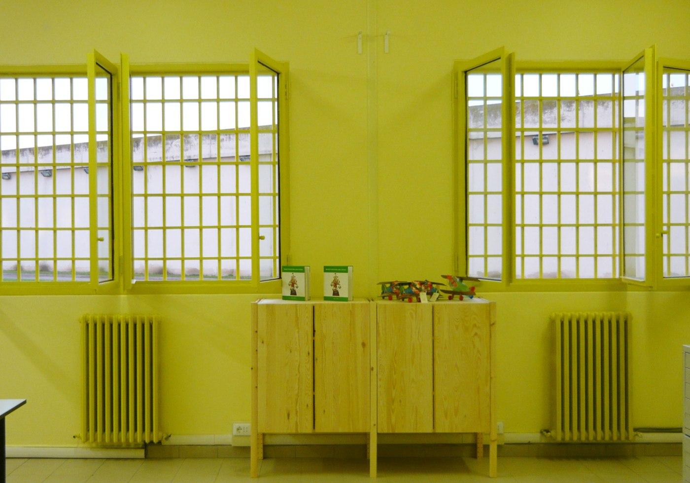 spazi di lavoro nel carcere di padova